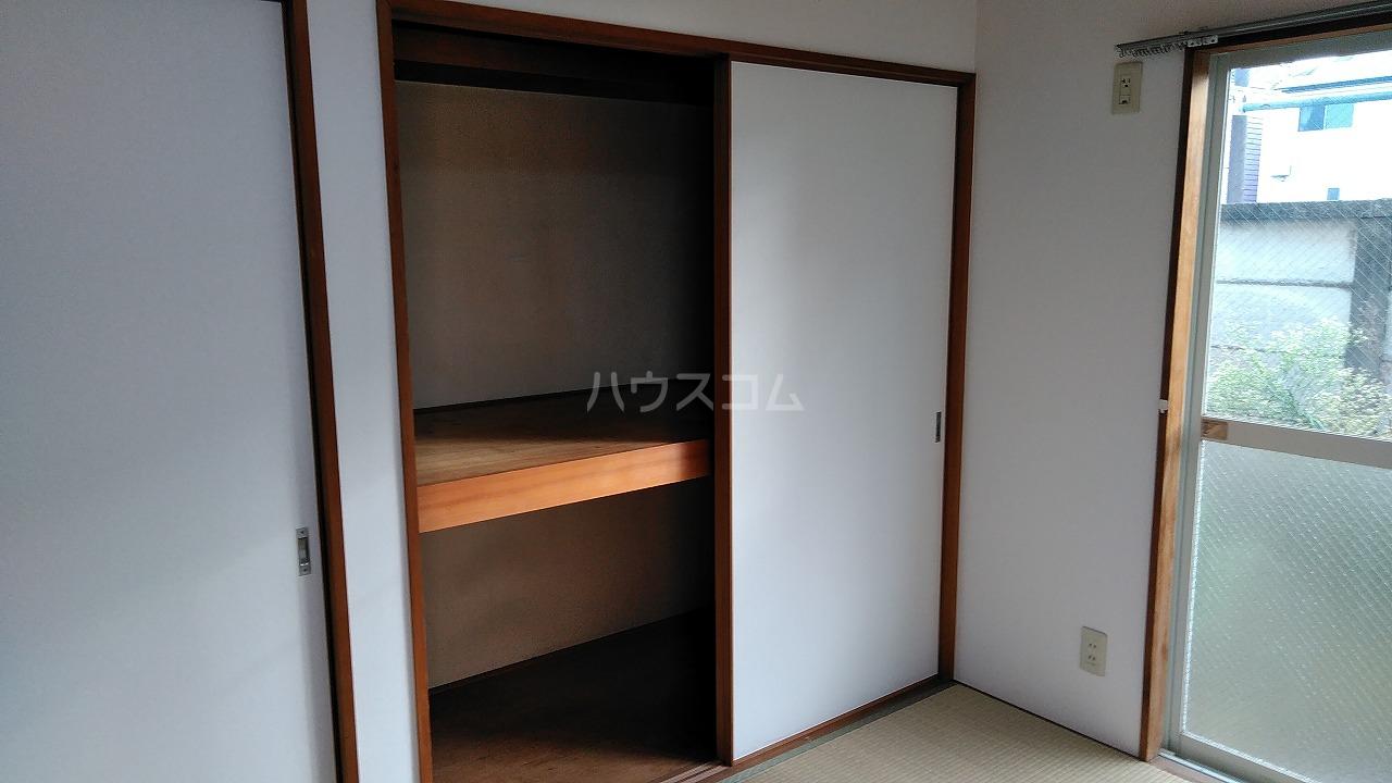 クリオコート西府Ⅰ-B 101号室の収納