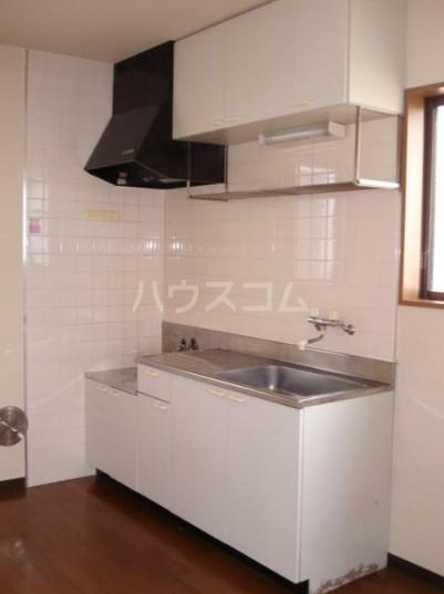 コートハウスⅢ 201号室のキッチン