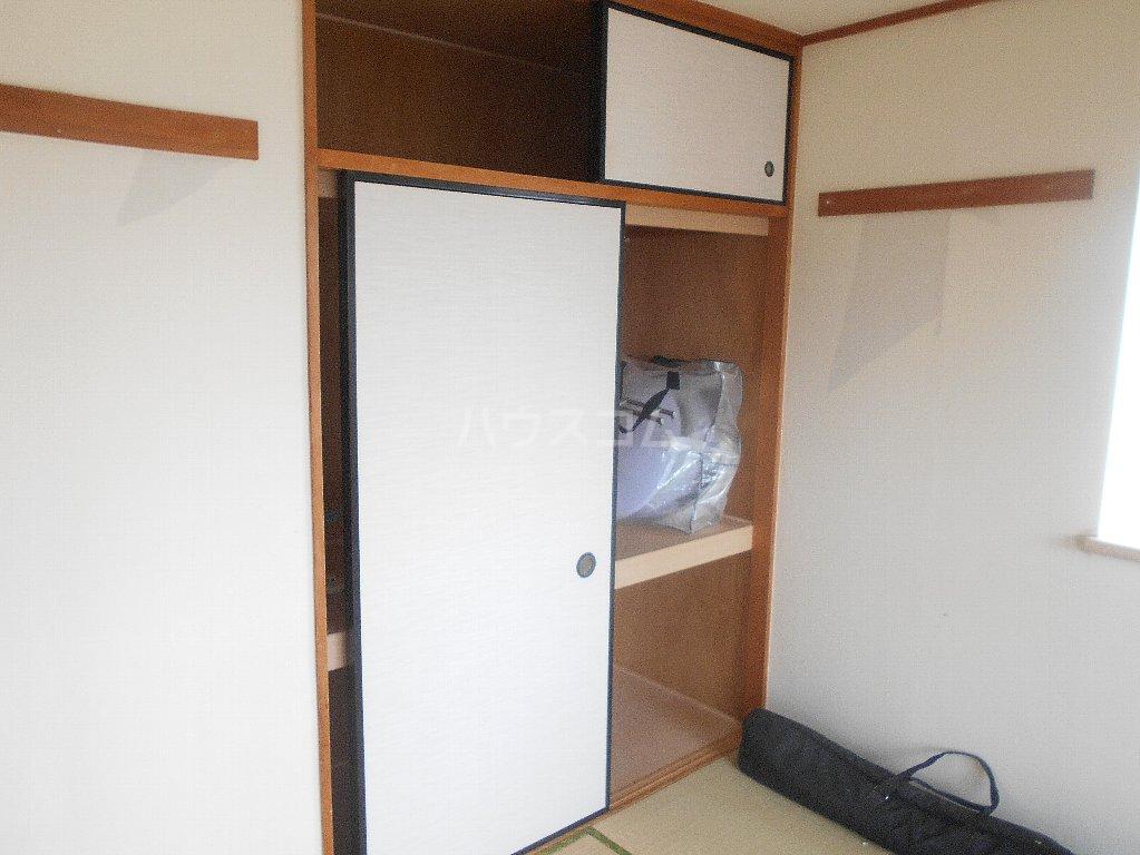 クレアージュ大倉山 401号室の収納