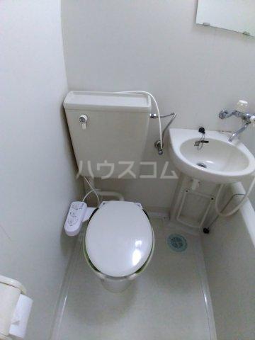 殿ハウス 2号のトイレ
