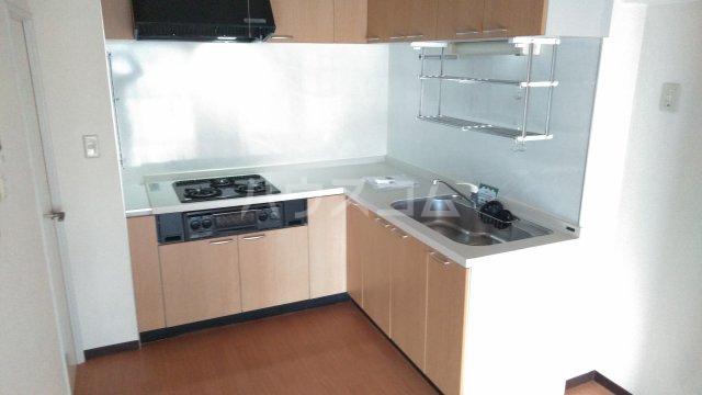 第2セントラルコーポ 0610号室のキッチン