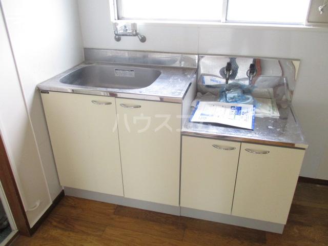 第一豊田ハイツ 3-A号室のキッチン