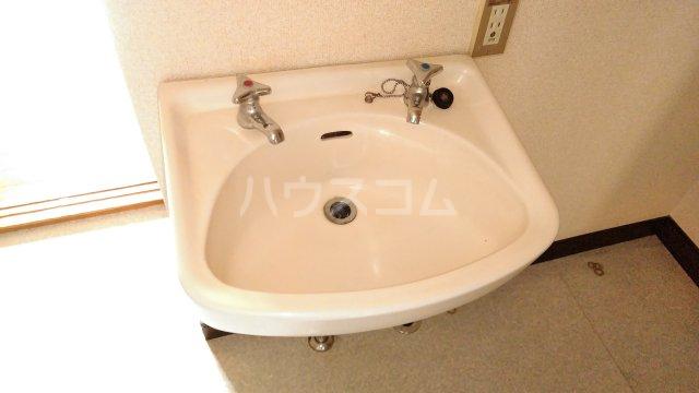 スカイコーポ 202号室の洗面所