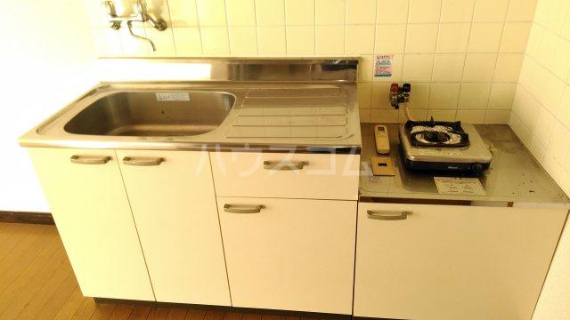 スカイコーポⅡ G号室のキッチン