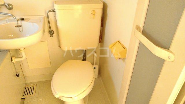 スカイコーポⅡ G号室のトイレ