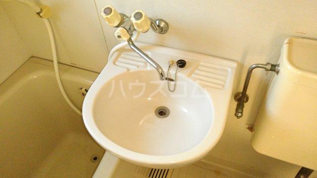 スカイコーポⅡ G号室の洗面所