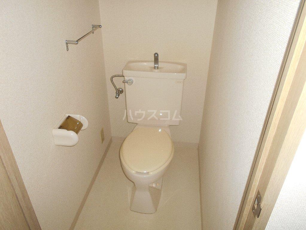 ラフォーレ大倉山 102号室のトイレ