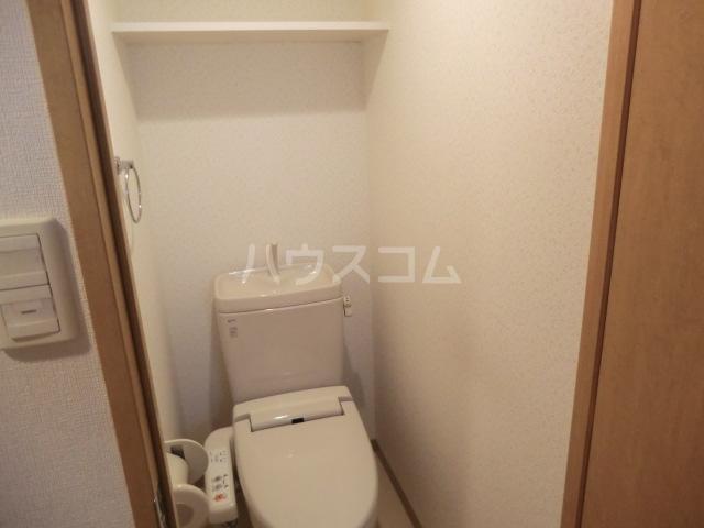 レジオス池上 203号室のトイレ