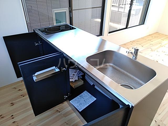 日吉戸建てのキッチン