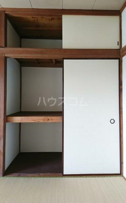 長栄荘 202号室の収納