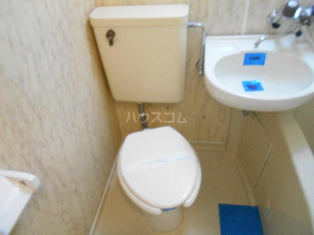 ラ・レジダンス・ド・ポローニア 307号室のトイレ