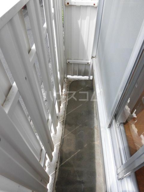 パークヴィラ 1101号室のバルコニー
