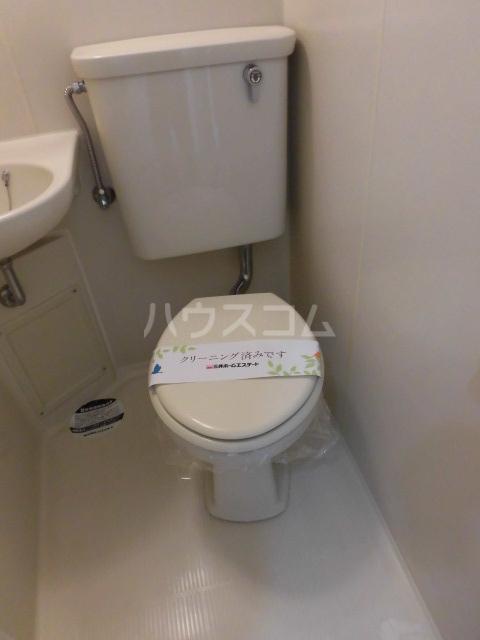 パークヴィラ 1101号室のトイレ