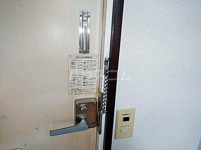 サンドゥエール日吉B 101号室のセキュリティ