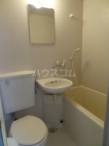 ネオハイツ647 201号室のトイレ