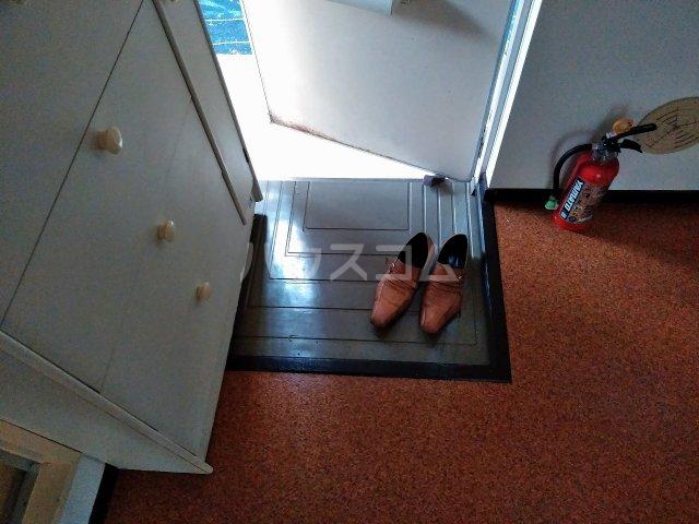 エステート鉄飛 102号室の玄関