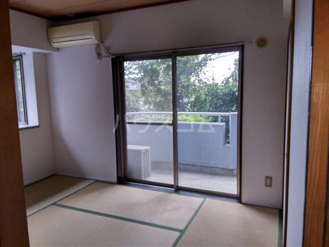 マキシムIK8 201号室のベッドルーム