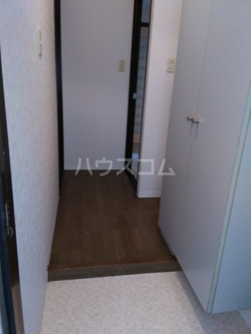 マキシムIK8 201号室の玄関