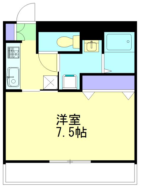 マ・メゾン大倉山 108号室の間取り