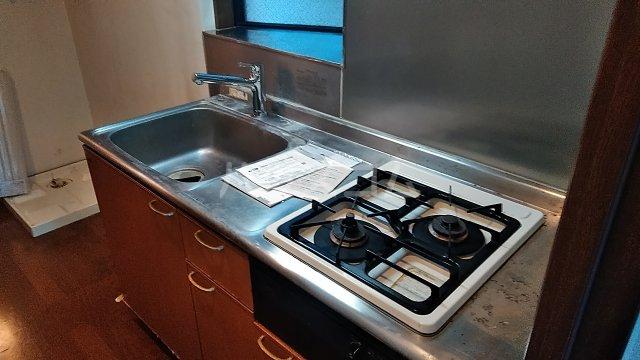 パレスSZA 201号室のキッチン