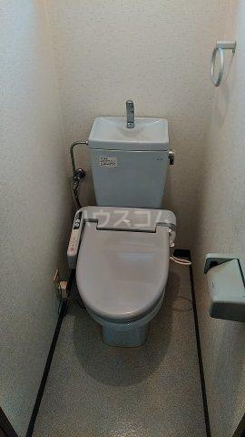 パレスSZA 201号室のトイレ