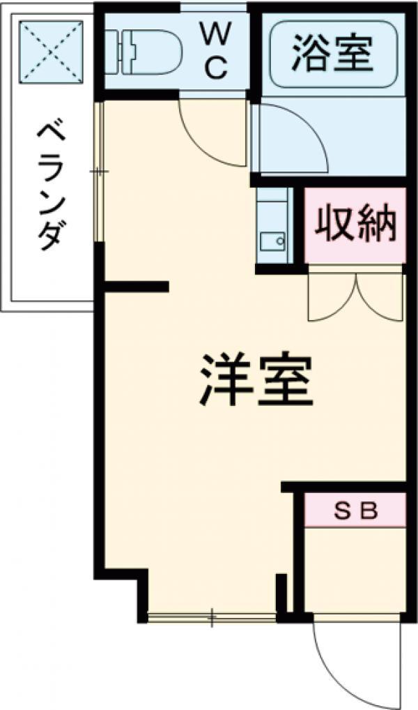 プチメゾン・タカハシ・102号室の間取り