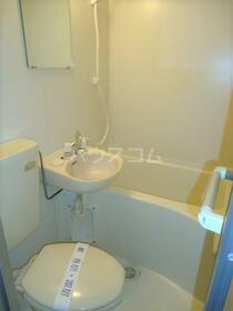 ライズステージ緑が丘 201号室のトイレ