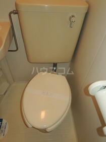 スカイコート川崎第2 804号室のトイレ