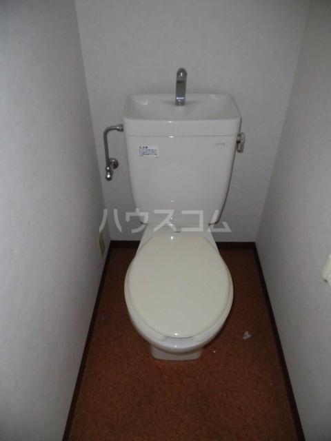 シンシア学芸大学セカンドステージ 501号室のトイレ