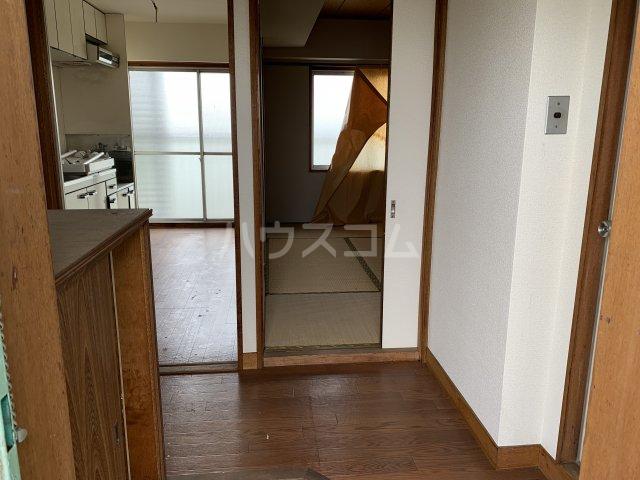 中駒コーポ富田 602号室の玄関