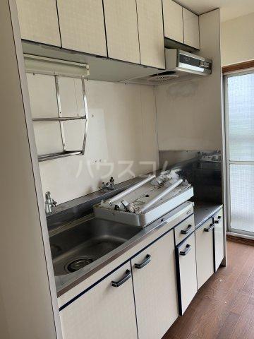 中駒コーポ富田 602号室のキッチン