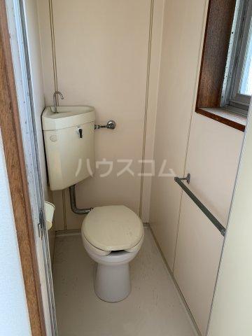中駒コーポ富田 602号室のトイレ