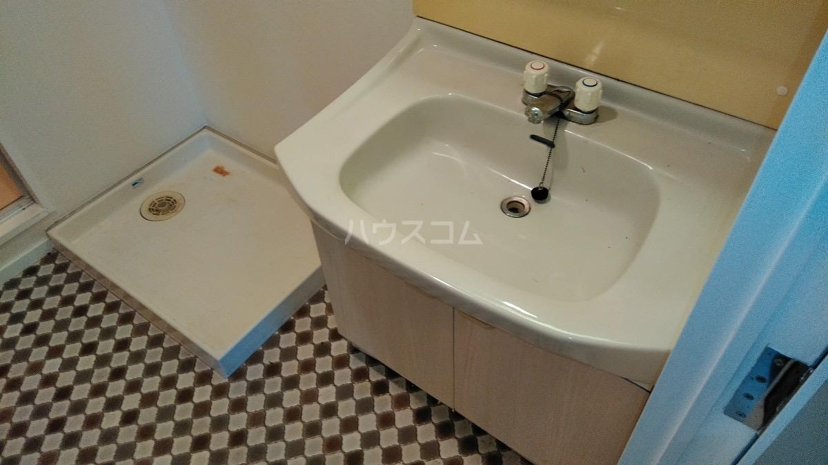 第2奥村マンション 2A号室の洗面所
