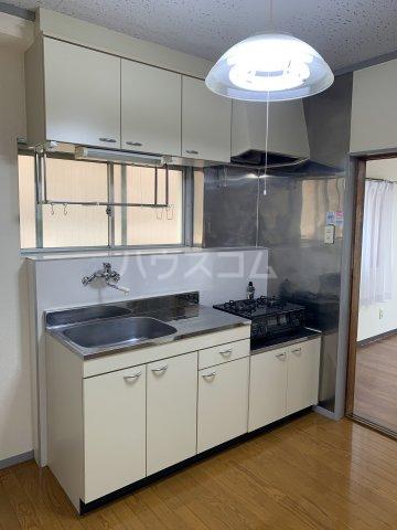 サンライトM.Ⅰ 4D号室のキッチン