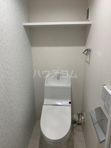 さくらHills ARAKO 503号室のトイレ