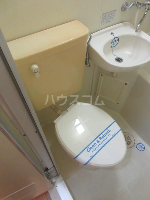 レスパス千種 508号室のトイレ