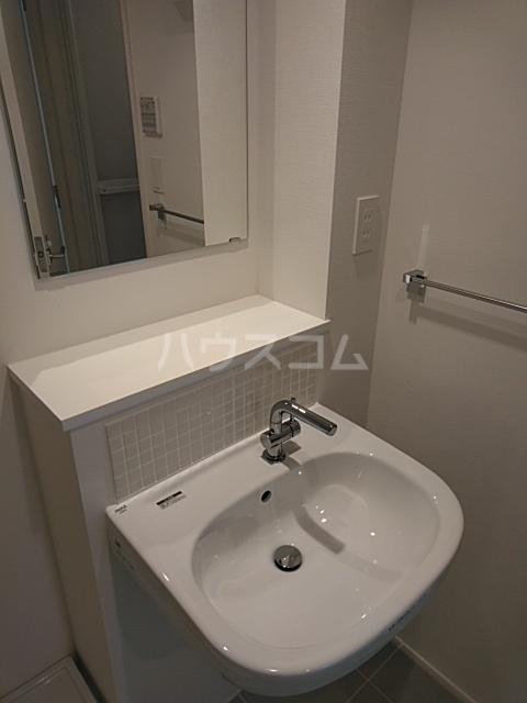 PASEO荏原中延 402号室の洗面所