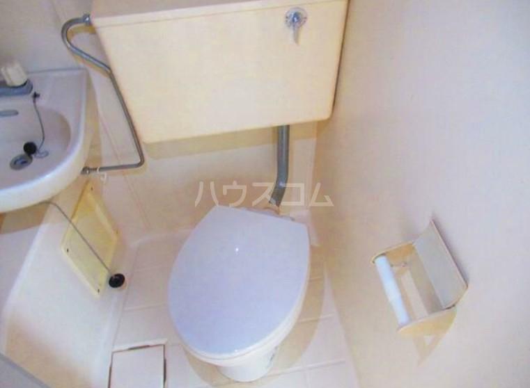 ハイテラス石川台 B205号室のトイレ