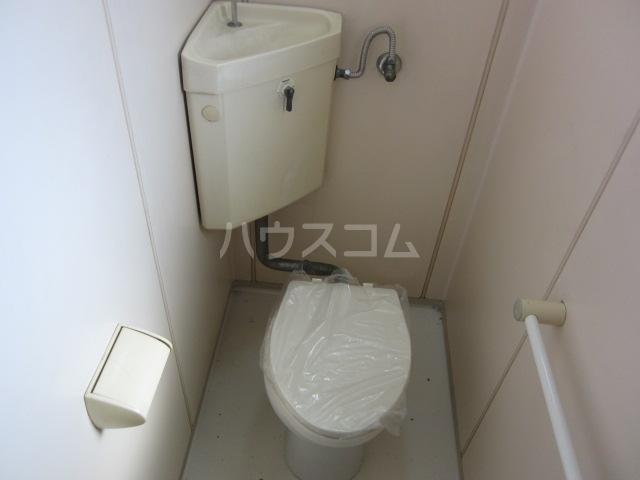 中駒コーポ富田 202号室のトイレ