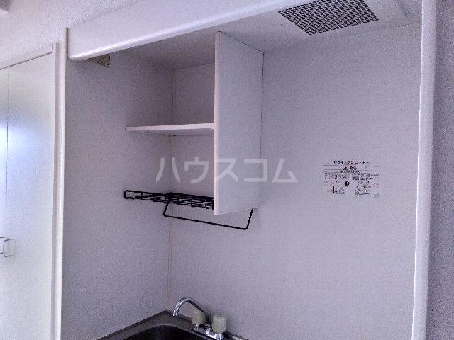 カルム亀島 609号室のキッチン