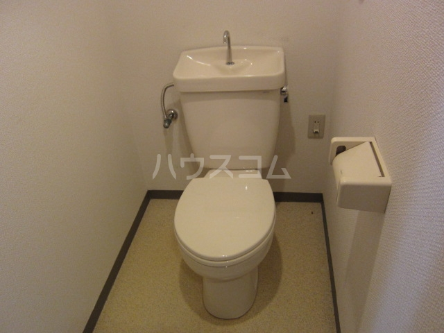 サンライトM.Ⅲ.西棟 2D号室のトイレ