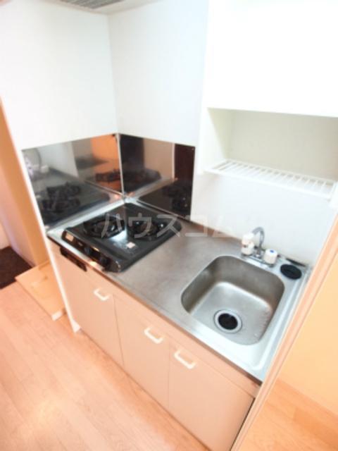Aries 201号室のキッチン