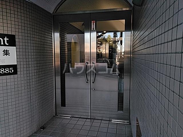 ヒルトップ洗足 406号室のエントランス