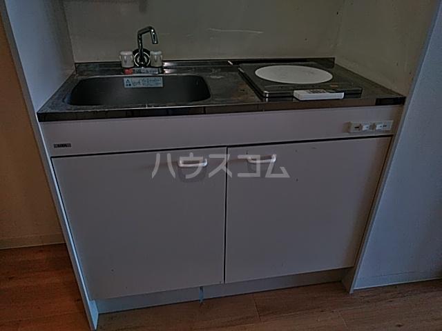 ヒルトップ洗足 406号室のキッチン