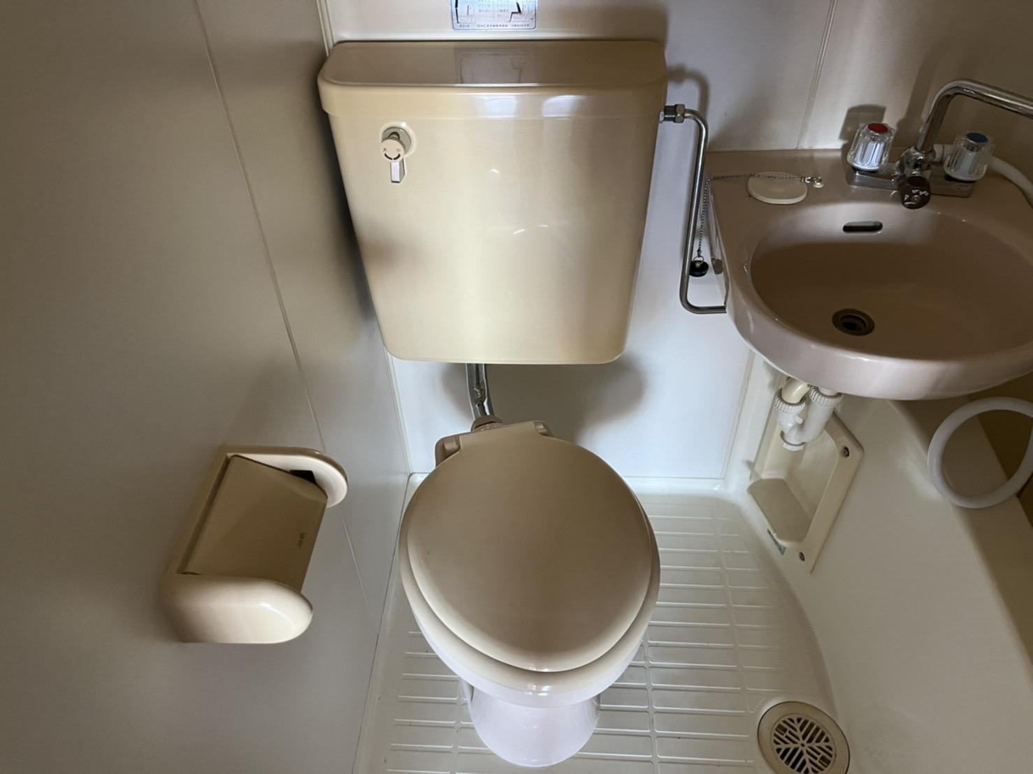 ドエル加藤 202号室のトイレ