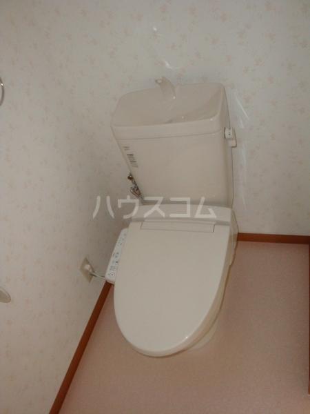 第一高杉マンション 2A号室のトイレ
