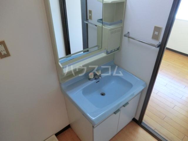 ハウスPAO11 503号室の洗面所