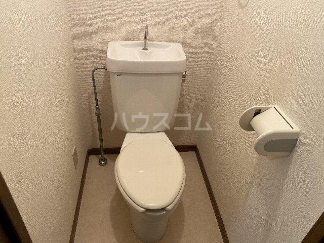 ドルフ亀島Ⅳ 208号室のトイレ