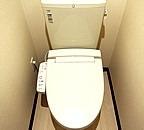 レオパレス雅 208号室のトイレ