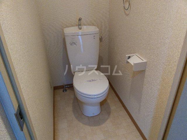 メゾンi本陣 101号室のトイレ